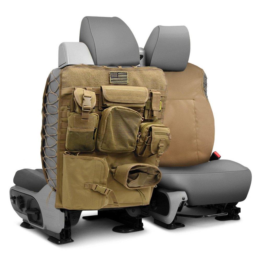 Smittybilt 5661324 G E A R 1st Row Coyote Tan Seat Cover