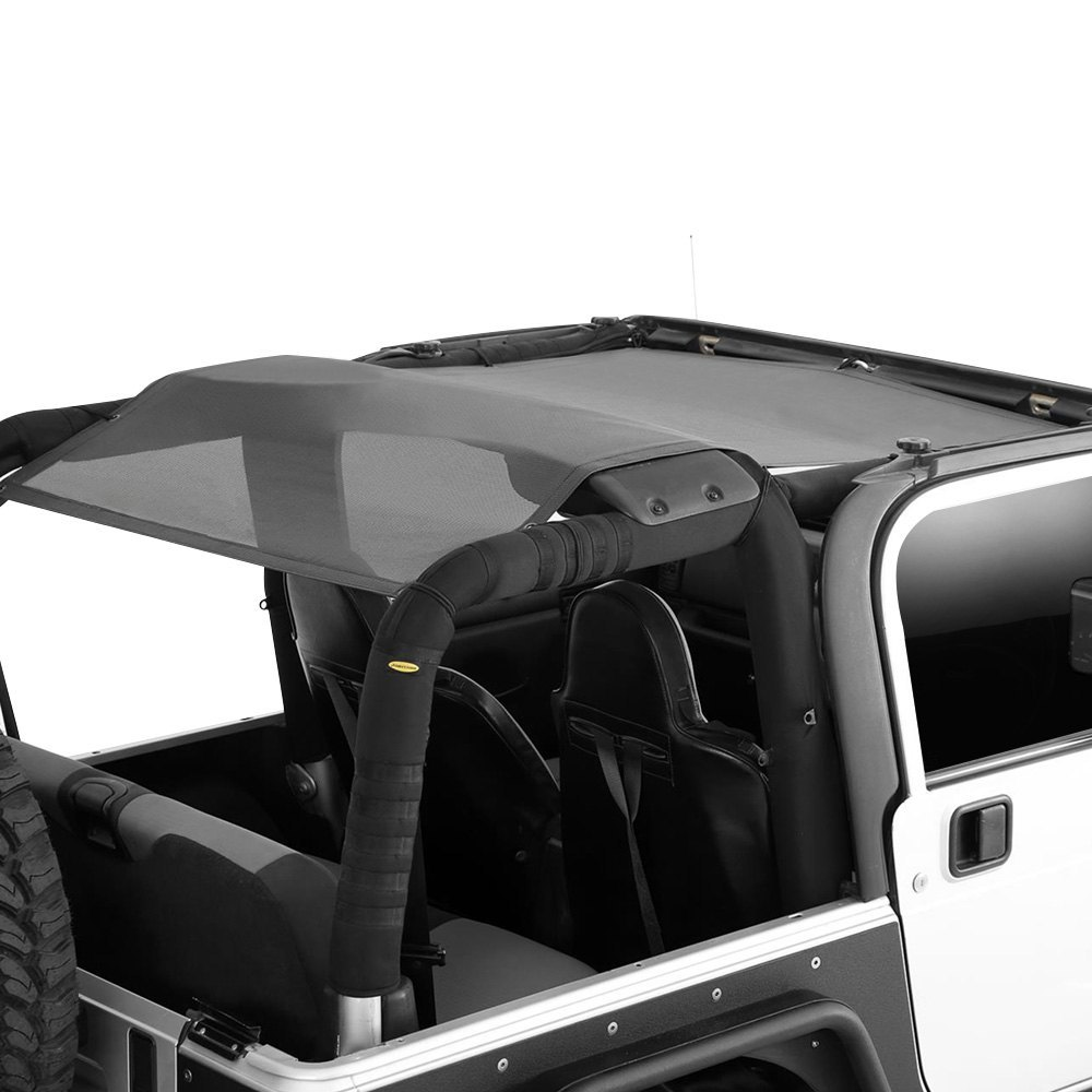 smittybilt jeep wrangler 1999 cloak extended mesh top. Black Bedroom Furniture Sets. Home Design Ideas