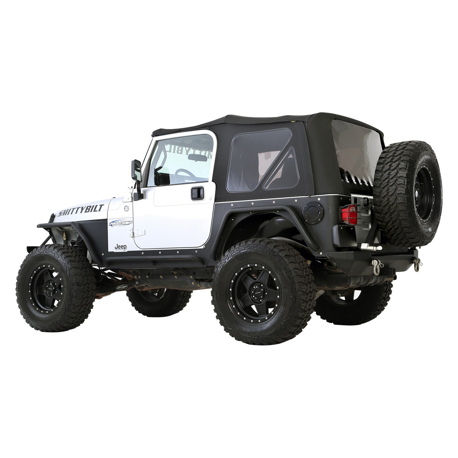 Jeep Wrangler Replacement Soft Top >> Smittybilt® - Jeep Wrangler 2010 Premium OEM Replacement Canvas Soft Top with Tinted Windows