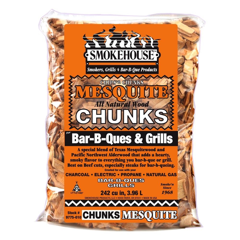 Smokehouse  bbq wood chunks mesquite
