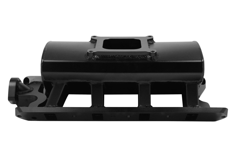 Sniper® 827012 - Sheet Metal Black Anodized Carbureted Fabricated Single  Plane Intake Manifold