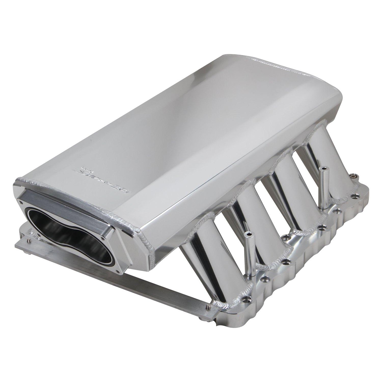 Sniper® - Hi-Ram Sheet Metal EFI Fabricated Intake Manifold and Fuel Rail  Kit