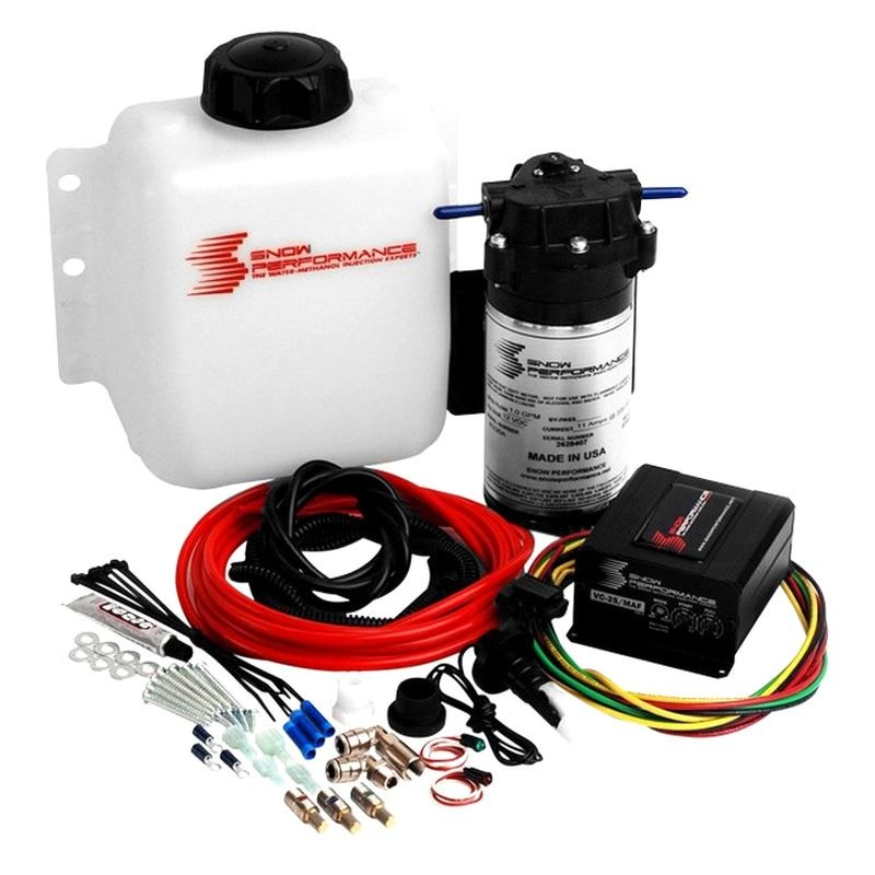 Fuel Systems For Blowers : Snow performance dual carb roots blower boost cooler