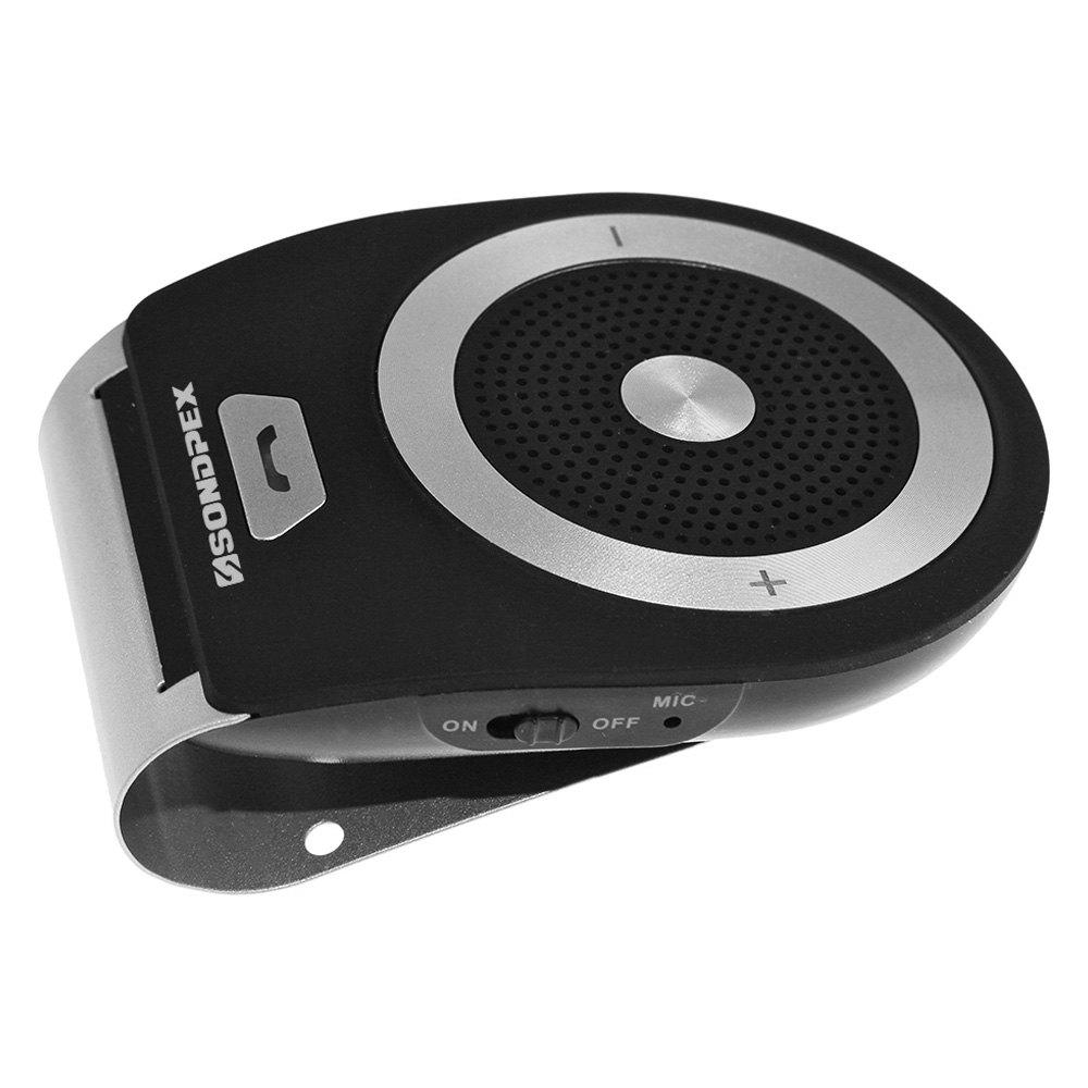 Sunvisor Bluetooth Speaker And Handsfree Kit