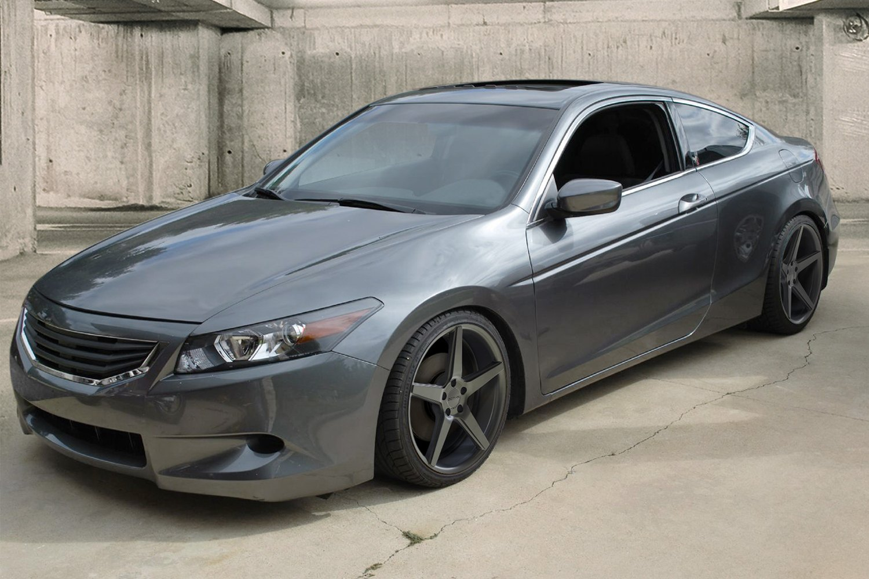 Sothis sc005 wheels flat gray rims for Grey honda accord