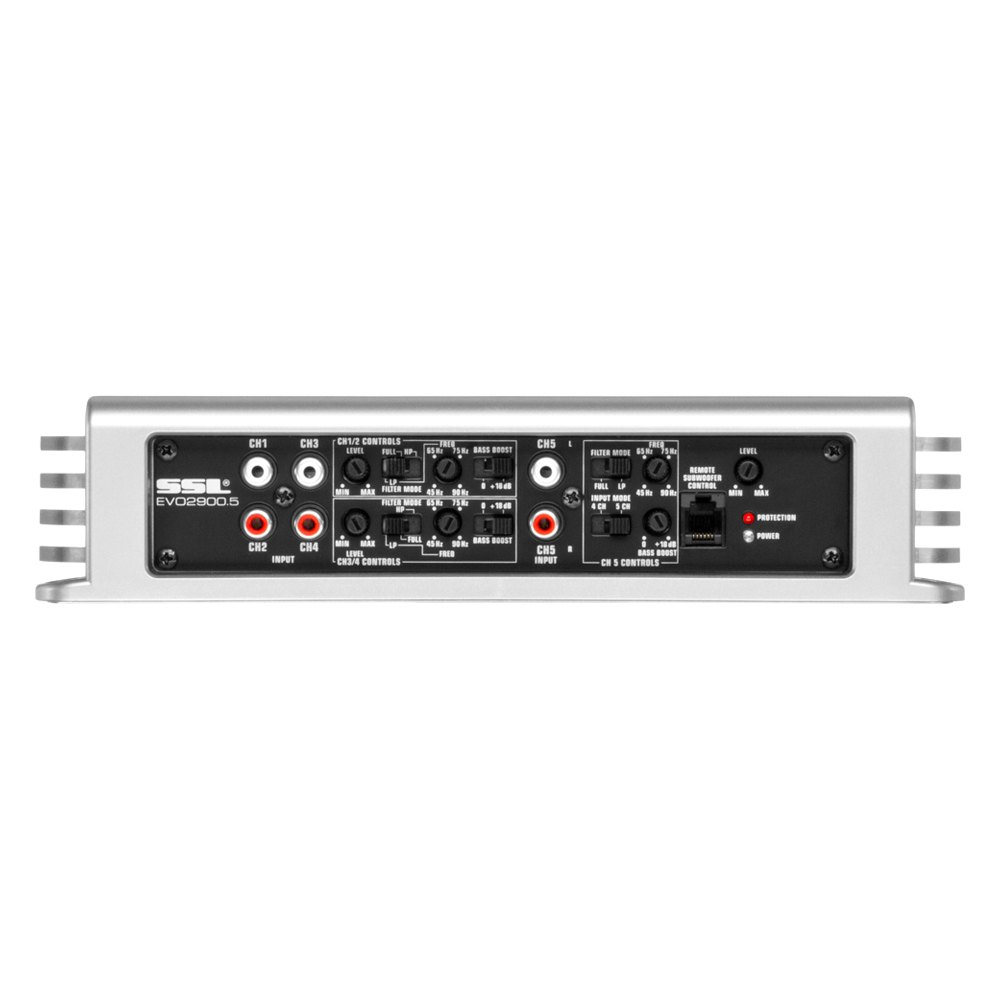 sound storm lab evo series class ab 5 channel 2900w amplifier. Black Bedroom Furniture Sets. Home Design Ideas