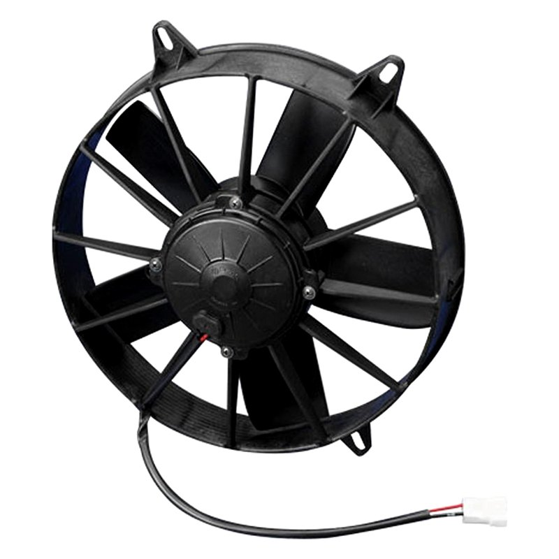 spal automotive® high performance puller fan with paddle blades, 12v Dual Cooling Fan Wiring Diagram spal brushless fan wiring diagram