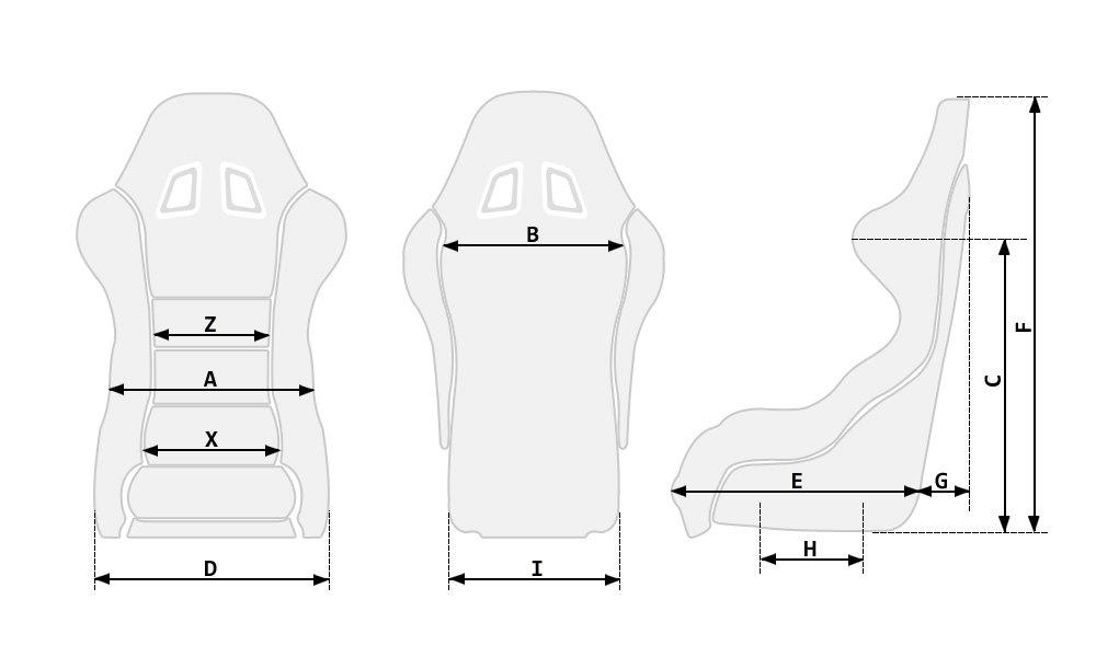 Sparco R100 Series Street Racing Seat