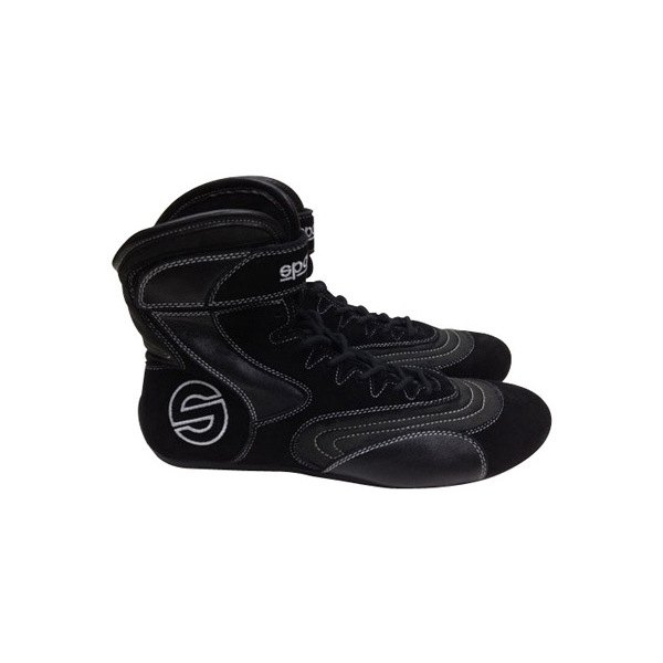 series drag racing shoes black fabric 6 size sparco racing shoes boots