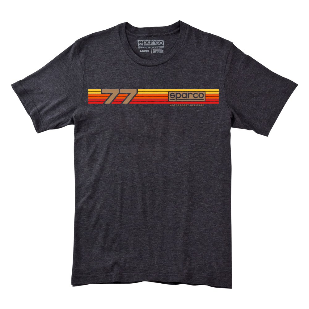 sparco sp02010ch5xxl rally tri t shirt charcoal xxl size. Black Bedroom Furniture Sets. Home Design Ideas