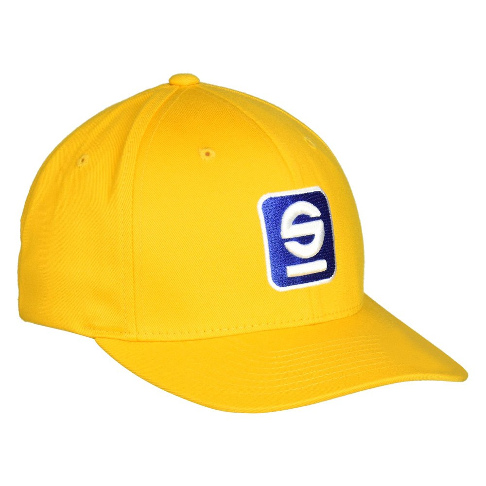 Sparco 174 Sp11g S Icon Cap Yellow S M Size