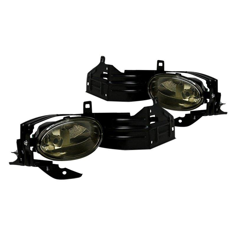 spec  honda accord coupe  smoke factory style fog lights