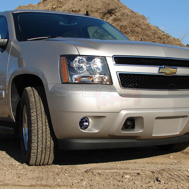 spec d chevy avalanche with round lens fog lights. Black Bedroom Furniture Sets. Home Design Ideas