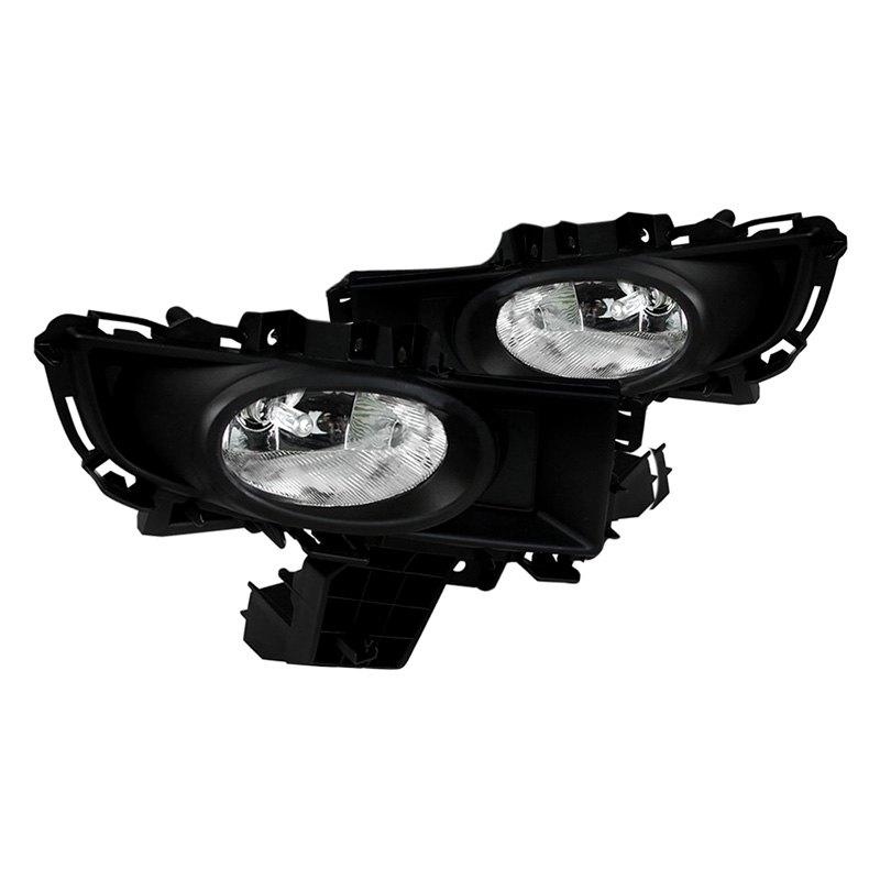 protege fog light wiring harness spec-d® - mazda 3 sedan 2007-2009 factory style fog lights ford fog light wiring harness #6