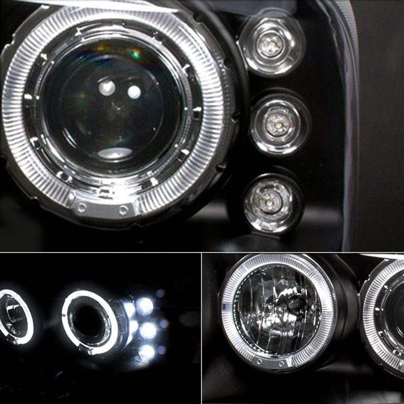 Spec D Halo Projector Headlights Led Tail Lights Autos Post