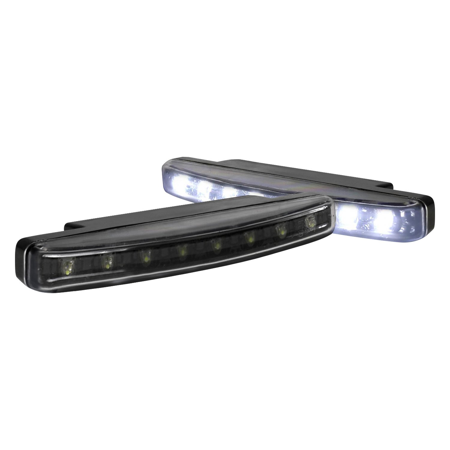 spec d lf 108ledjm wt 158mm led daytime running light kit. Black Bedroom Furniture Sets. Home Design Ideas