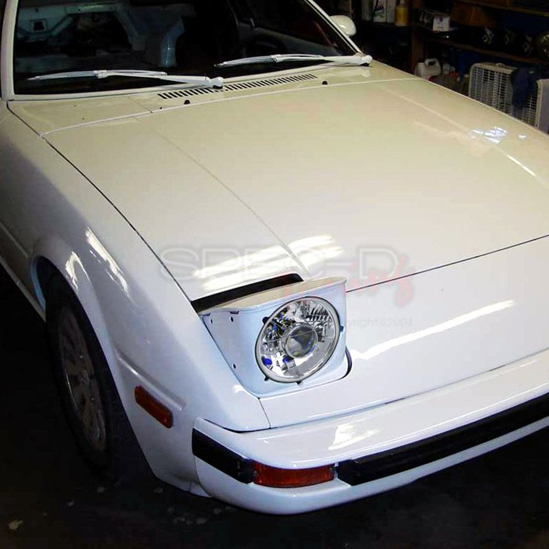 "Na Miata Garage Vary Tail Lights: Mazda Miata MX-5 1992 7"" Round Chrome Projector"