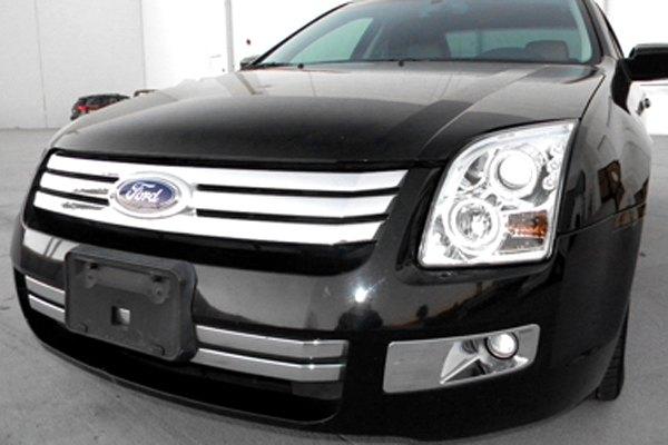 Automotive Repair Shops >> Spec-D® - Ford Fusion 2008 Chrome Dual Halo Projector LED Headlights