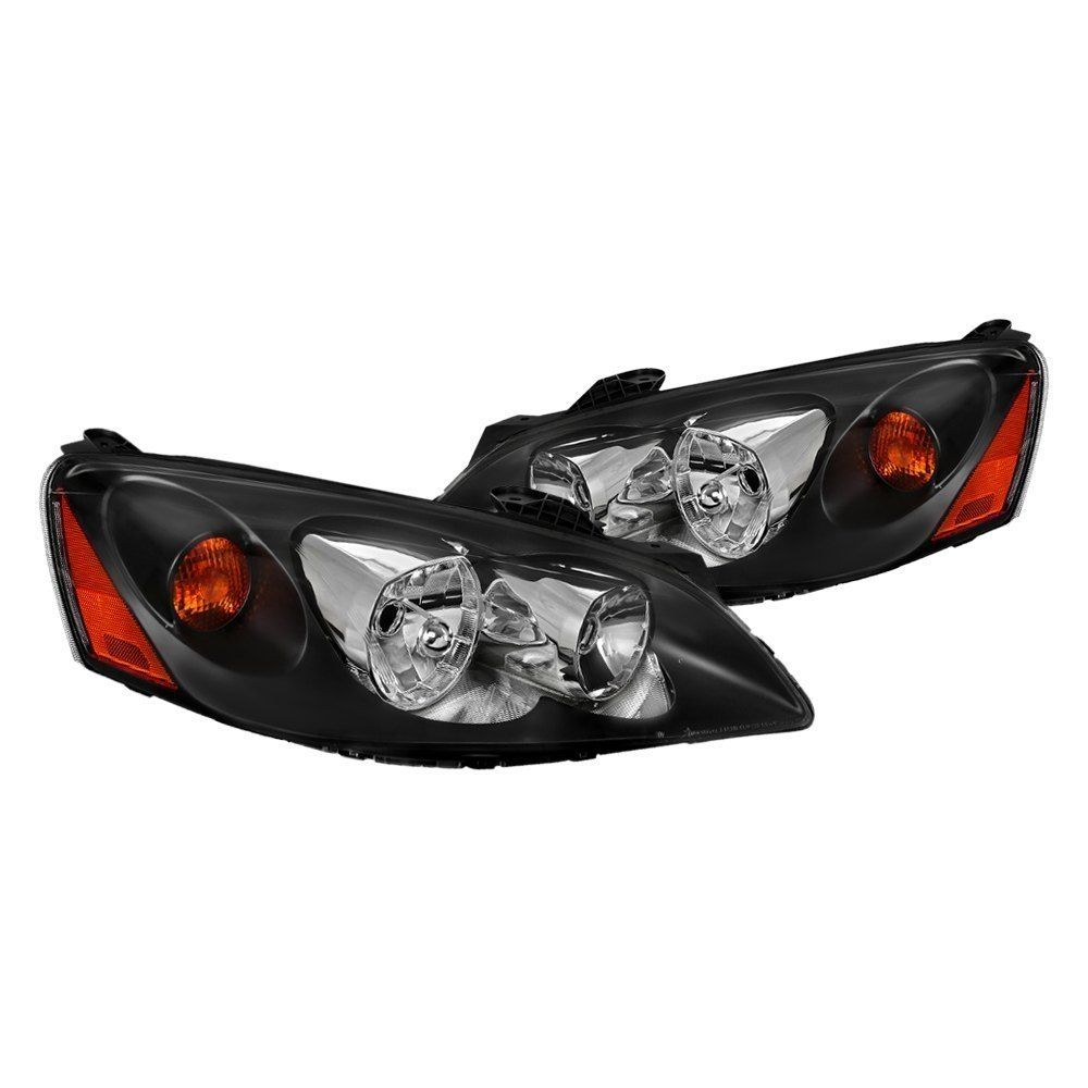 Spec D 174 Pontiac G6 2008 Black Factory Style Headlights