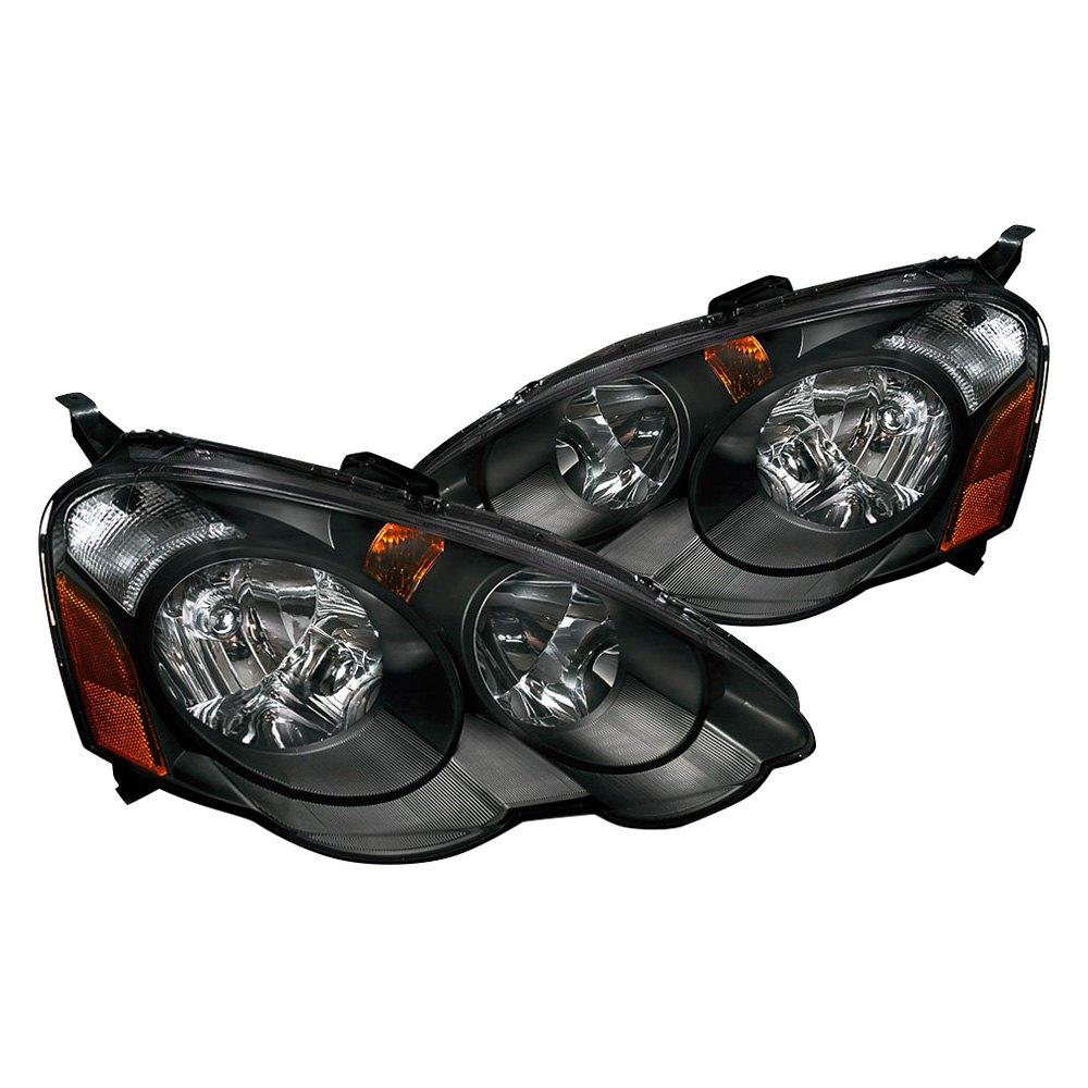 Acura RSX 2003 Black/Smoke Euro Headlights