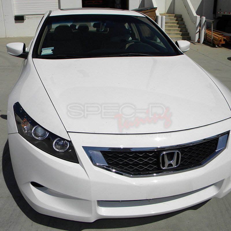 Spec D 174 Honda Accord Coupe 2011 Black Dual Halo