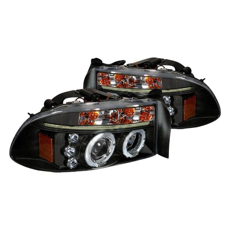 spec d 2lhp dak97jm tm black dual halo projector headlights with rh carid com Spec-D Headlight Installation Scion tC2 Spec-D Tuning Headlights