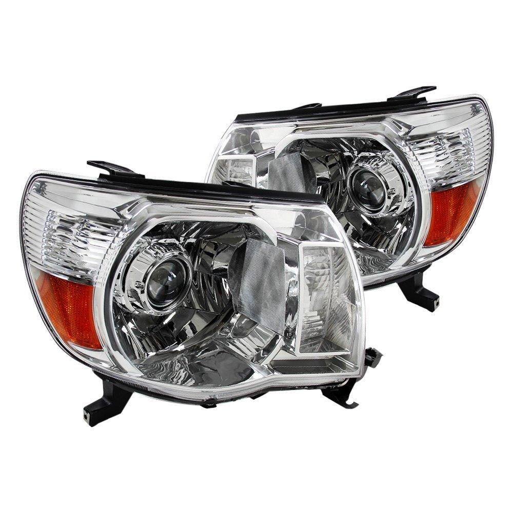 Toyota Tacoma Headlights: Toyota Tacoma 2006 Chrome Projector Headlights