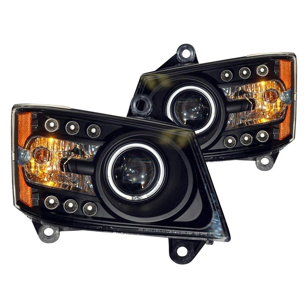Pro Braking PBR9557-CLR-SIL Rear Braided Brake Line Transparent Hose /& Stainless Banjos