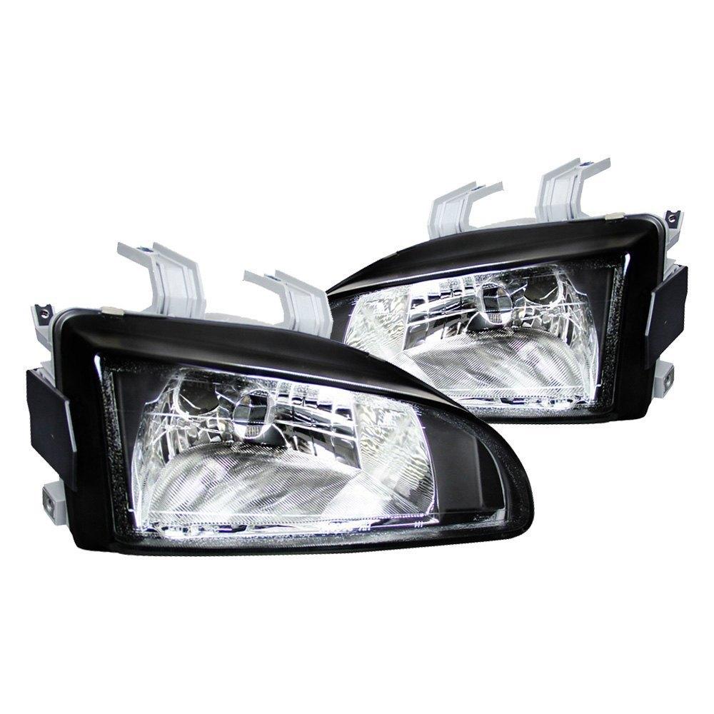 Spec-D® - Black Euro Headlights