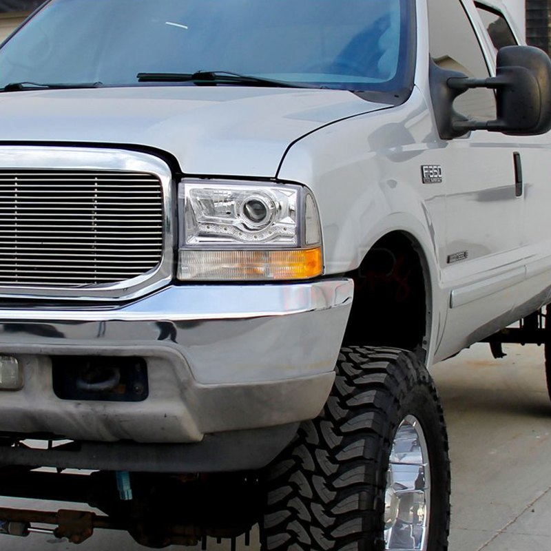 Ford F 250 Headlights : Spec d ford f super duty with factory