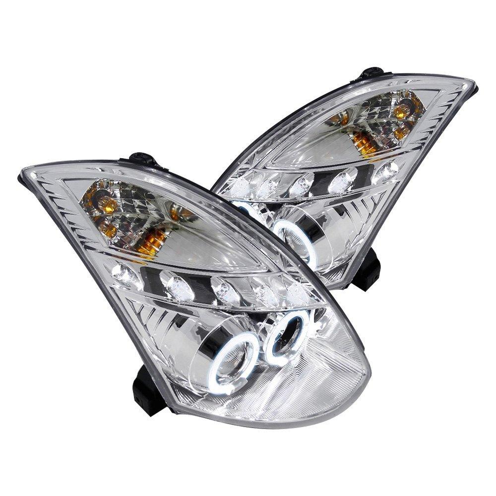 2008 g35 headlights 2 bar shower pump