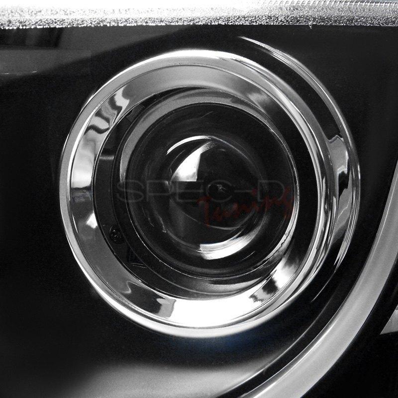 Spec D 174 Pontiac G8 2008 2009 Black Led U Bar Projector