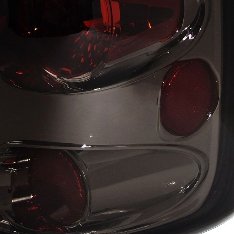 spec d ford f 150 2005 chrome red smoke euro tail lights. Black Bedroom Furniture Sets. Home Design Ideas
