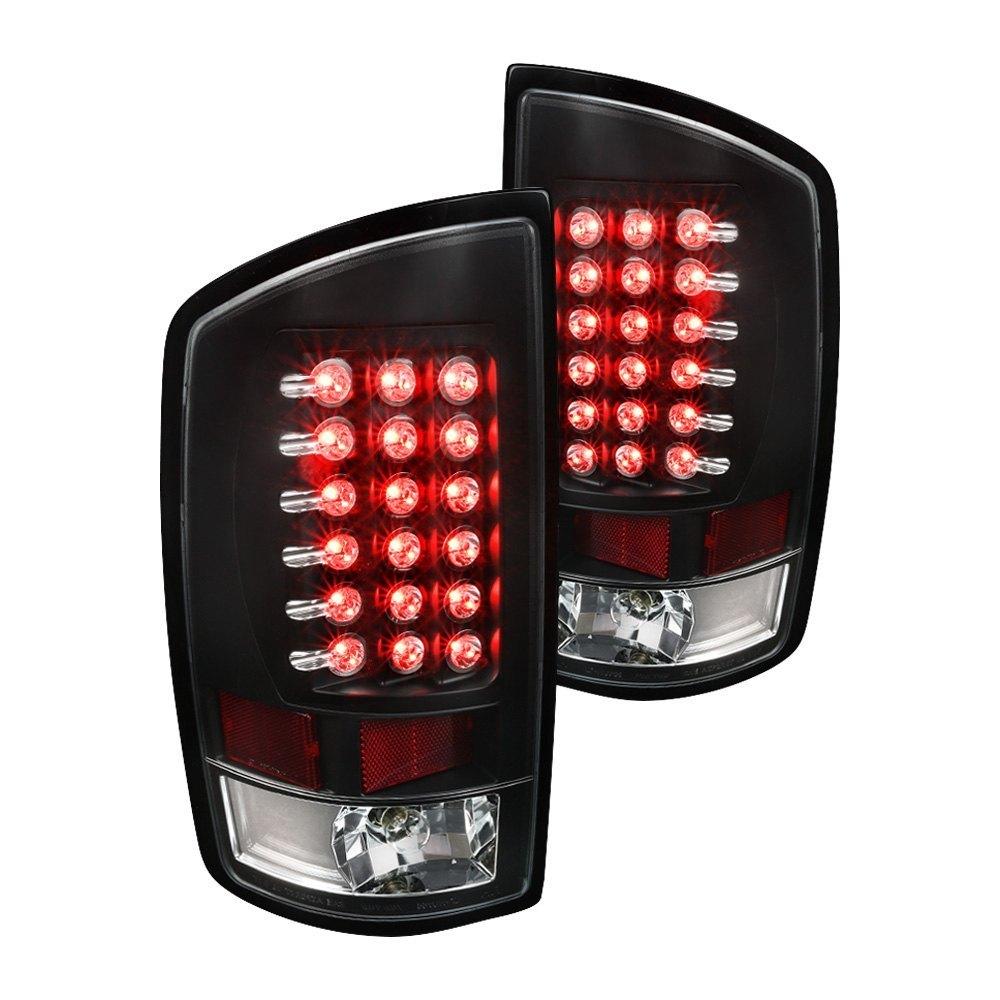 Spec D 174 Dodge Ram 1500 2500 3500 2008 Black Led Tail