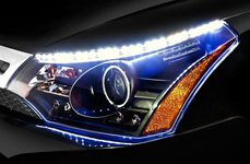 Spec-D® - Halo Projector Headlights with Led Strips