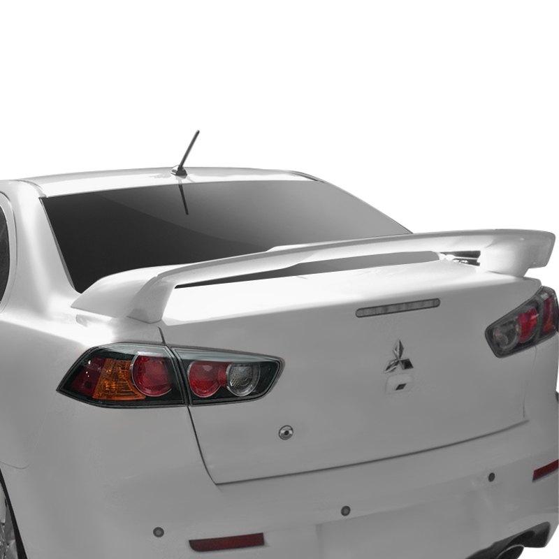 2013 Mitsubishi Lancer Exterior: Mitsubishi Lancer 2013 White