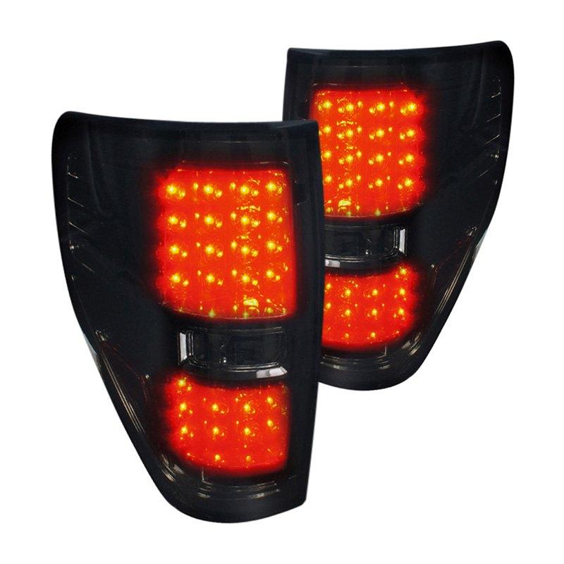 spec d lt f15009gled tm ford f 150 2010 smoke led tail lights. Black Bedroom Furniture Sets. Home Design Ideas