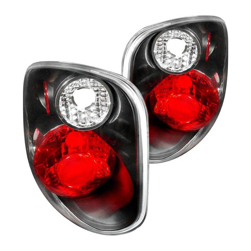 lt f150f01jm ks ford f 150 2001 2003 black red euro tail lights. Black Bedroom Furniture Sets. Home Design Ideas