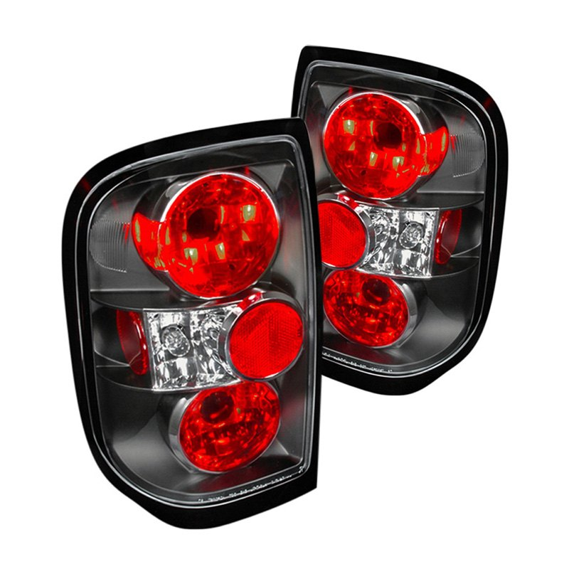 Spec D®   Black/Red Euro Tail Lights