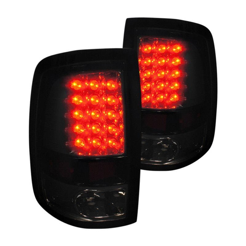 Spec D®   Gloss Black/Smoke LED Tail Lights