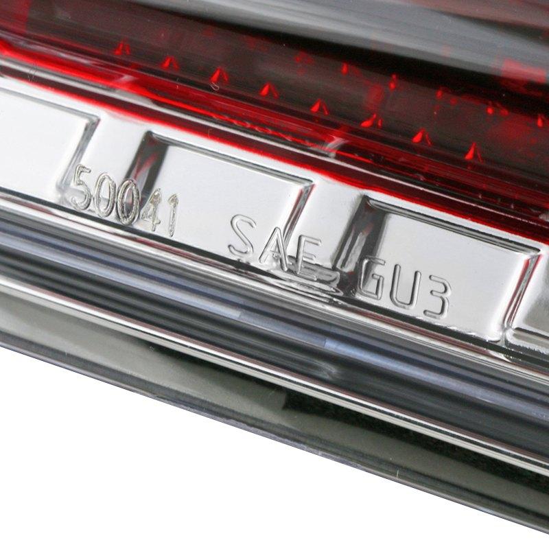 6 inch Passenger side WITH install kit 100W Halogen 2008 Morgan Olson ROUTE STAR High Corner mount spotlight -Chrome