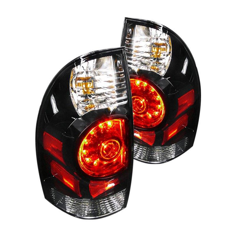 spec d lt tac09jmled dp toyota tacoma 2011 black red. Black Bedroom Furniture Sets. Home Design Ideas