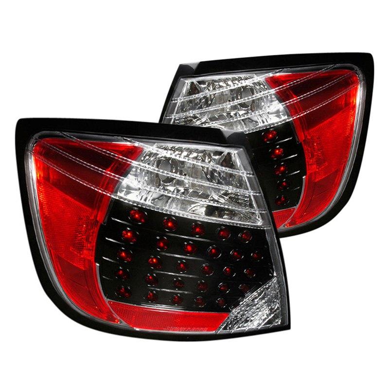 spec d lt tc04jmled dp scion tc 2005 black red led tail lights. Black Bedroom Furniture Sets. Home Design Ideas