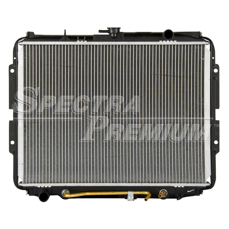 Spectra premium isuzu pick up engine coolant radiator
