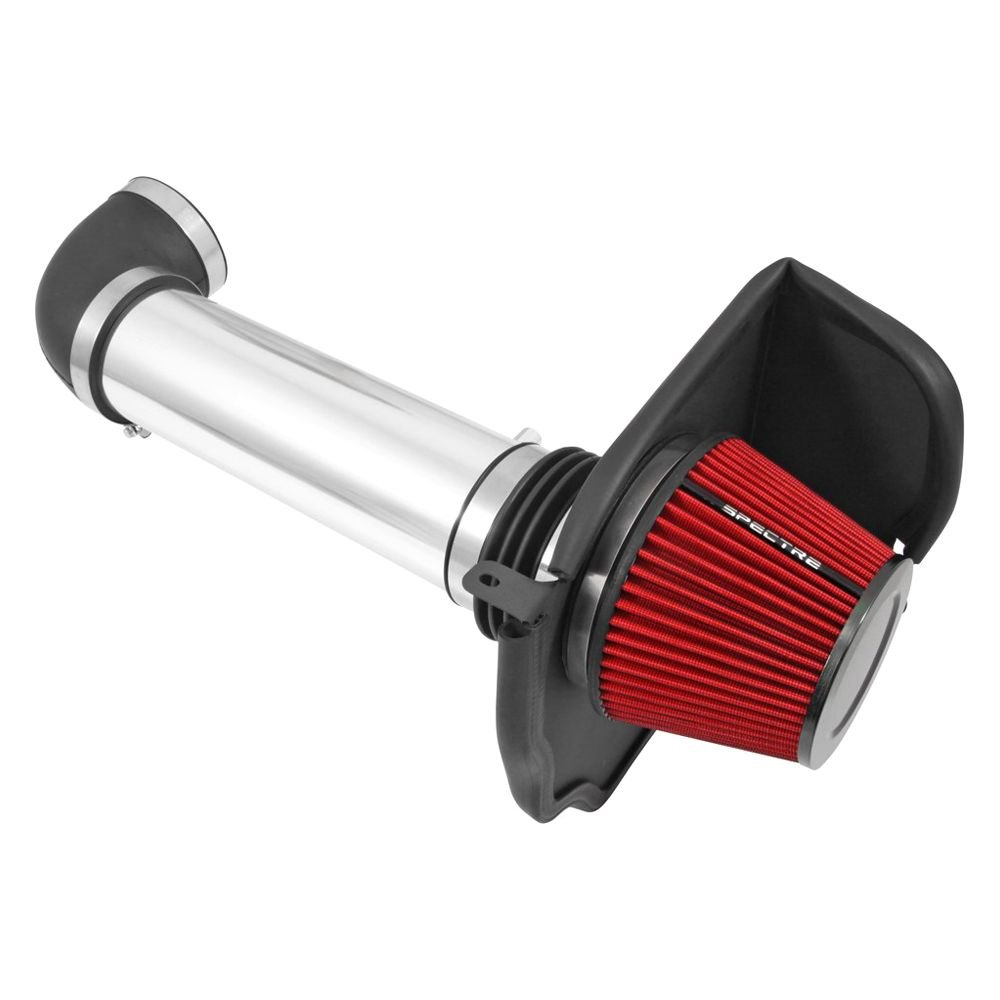 Air Intake In Courtyard : Spectre aluminum polished cold air intake system
