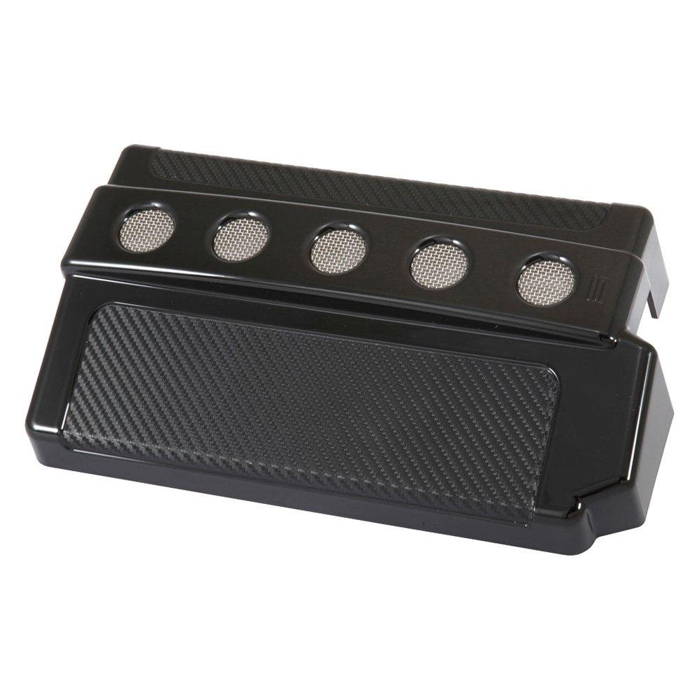 Spectre Performance Fuse Box Cover Design Circular Black