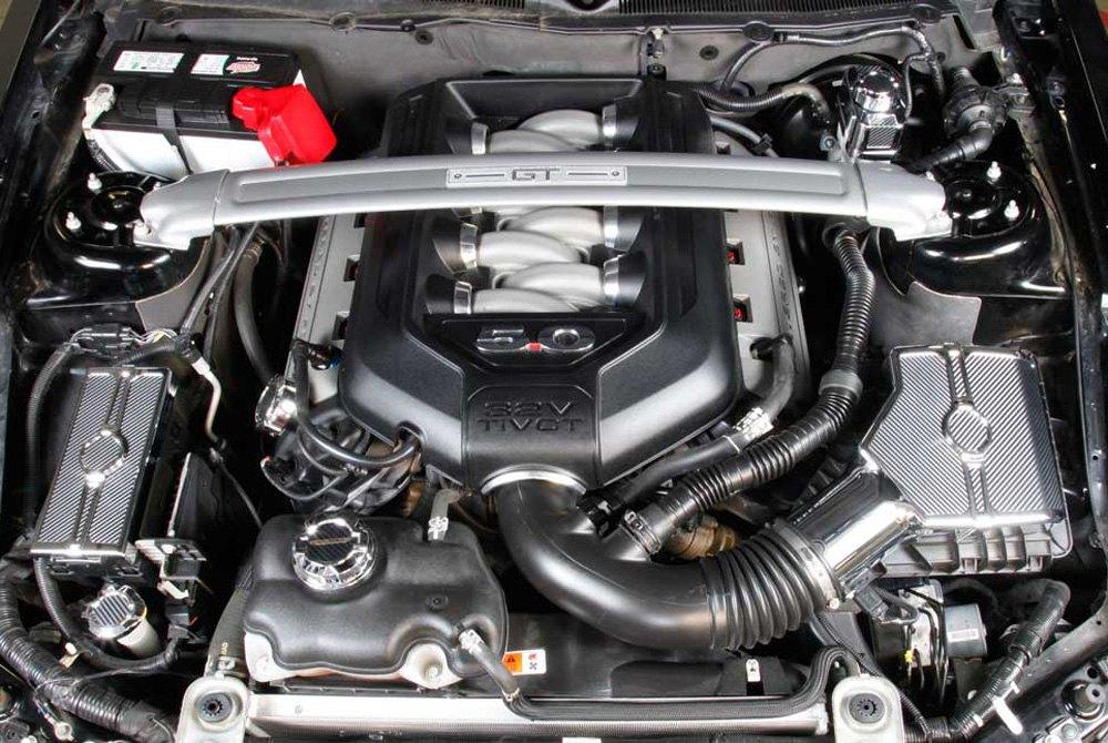 spectre performance ford mustang base boss 302 gt 2013 engine cover kit. Black Bedroom Furniture Sets. Home Design Ideas