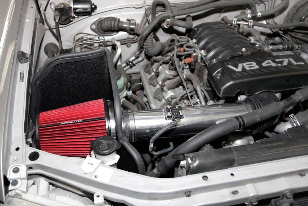 Spectre Performance Toyota Tundra 4 7l 2005 2006 Aluminum Polished Cold Air Intake System