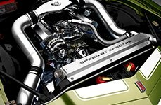 Spectre Performance® - Low Profile Dual Inlets Plenum Style Air Intake System