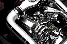 Spectre Performance® - Low Profile Dual Inlets Plenum Style Air Intake System Installed